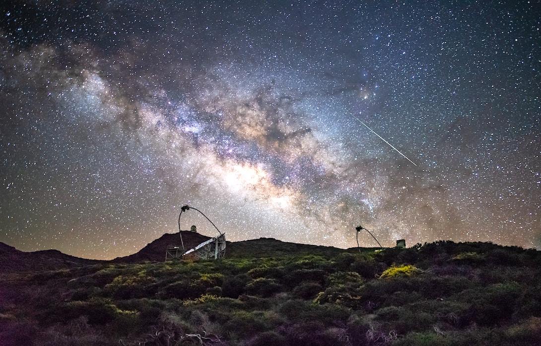 Sternenhimmel Roque de los Muchachos La Palma