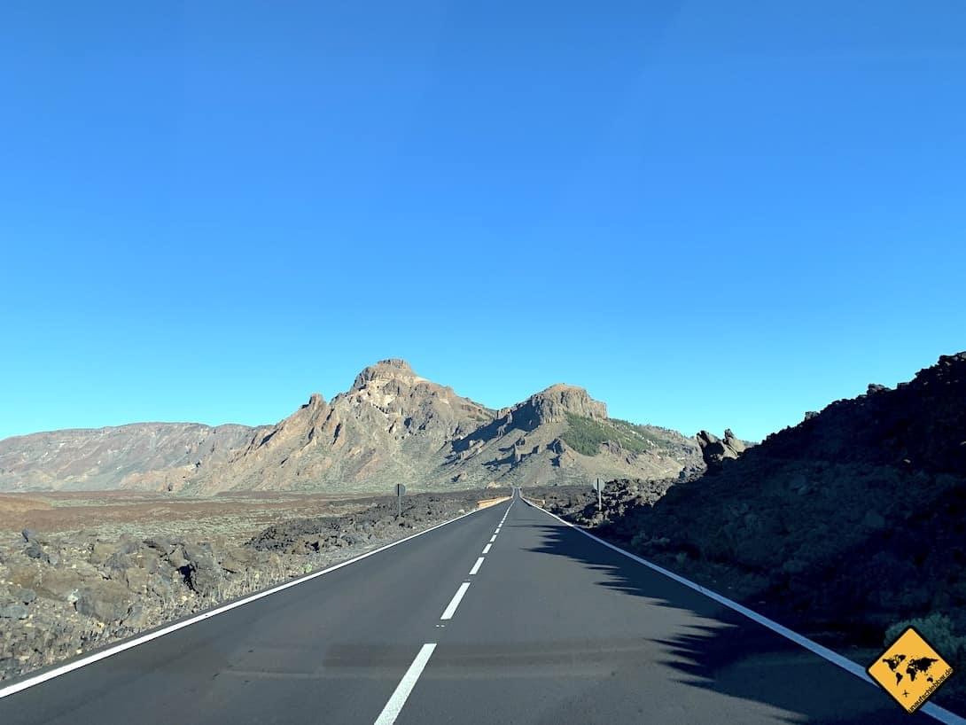 Straße Nationalpark El Teide