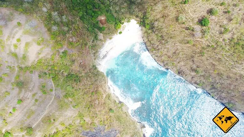 Strände Bali Buchten
