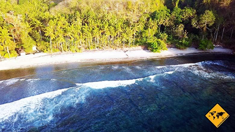 Strände Bali Gamat Bay