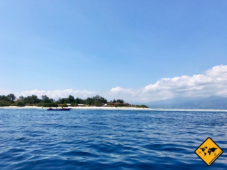 Strände auf Lombok Gili Meno