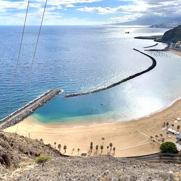 Strände auf Teneriffa Playa de las Teresitas