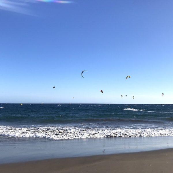 Strände auf Teneriffa kiten El Médano