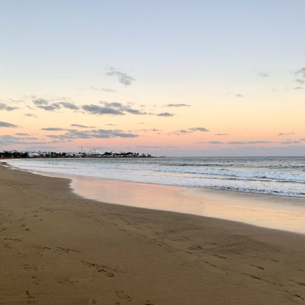 Strand Abend Puerto del Carmen