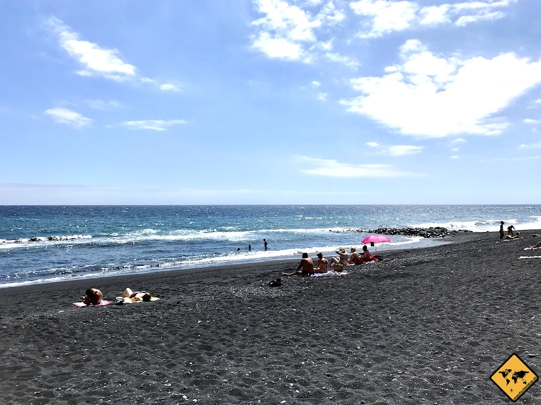 Strand Candelaria Teneriffa