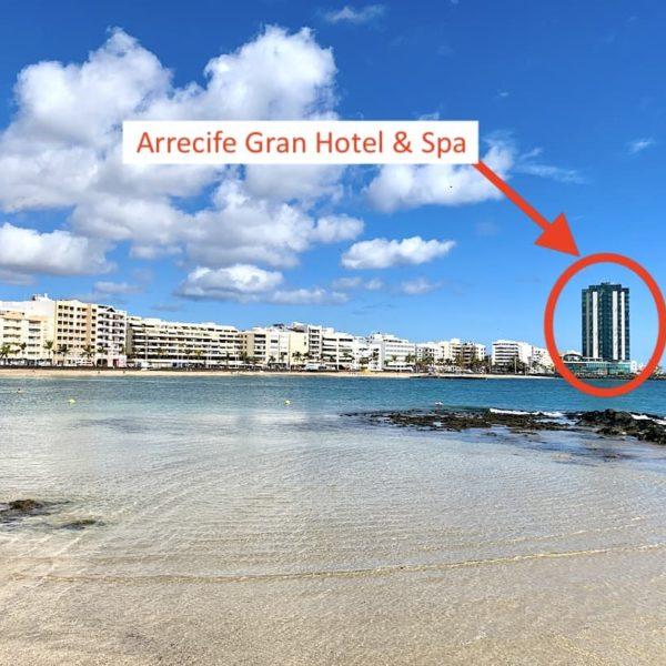 Strand Gran Hotel Arrecife Lanzarote