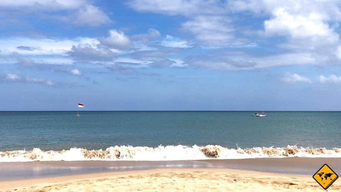 Strand Jimbaran Welle