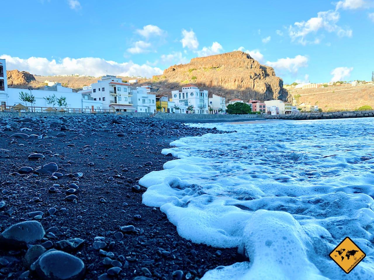 Strand La Gomera Playa de Santiago