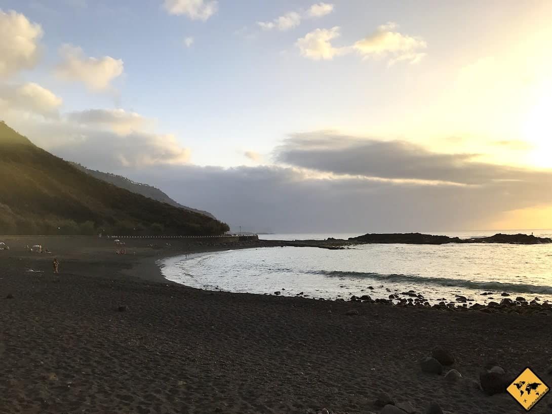 Strand Meer Playa de la Arena Teneriffa Nord