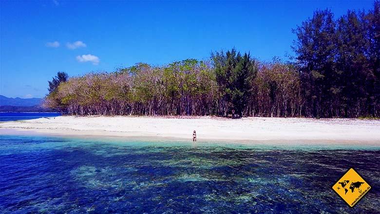 Strand Nord Gili Nanggu