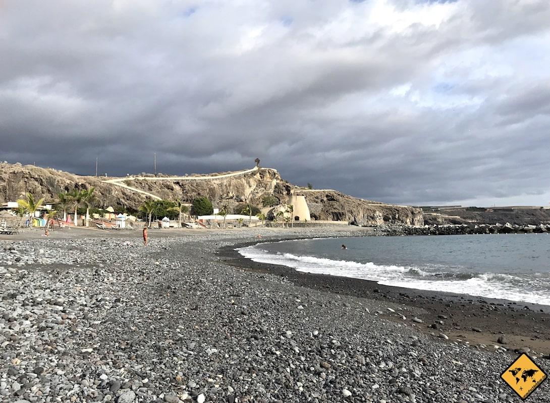Strand Playa San Juan Teneriffa