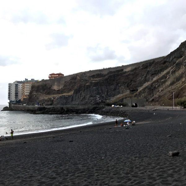 Strand Playa de la Arena Nord Teneriffa