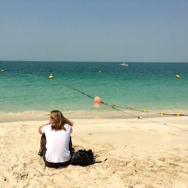 Strand Sommer Jumeirah Public Beach Dubai