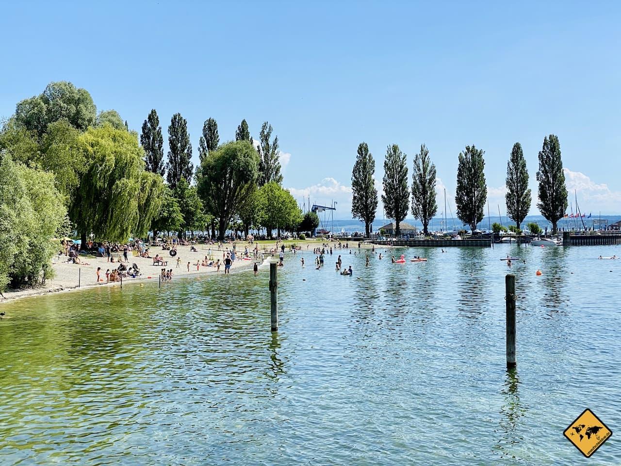 Strand Unteruhldingen Bodensee