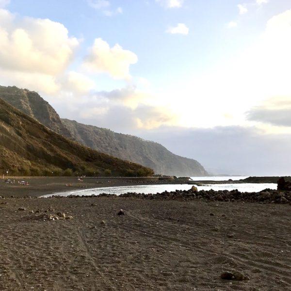 Strand auf Teneriffa naturbelassen Playa de la Arena