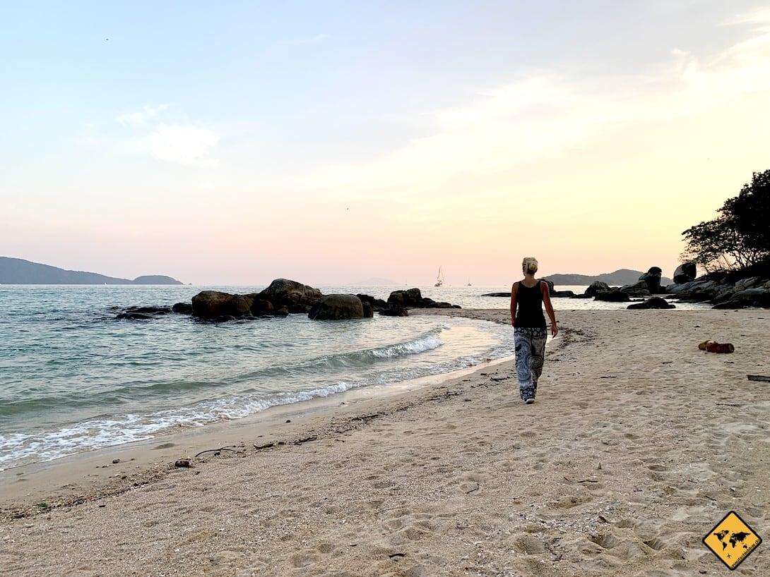 Strand schwanger reisen
