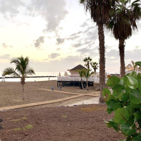 Strand auf Teneriffa Playa del Duque