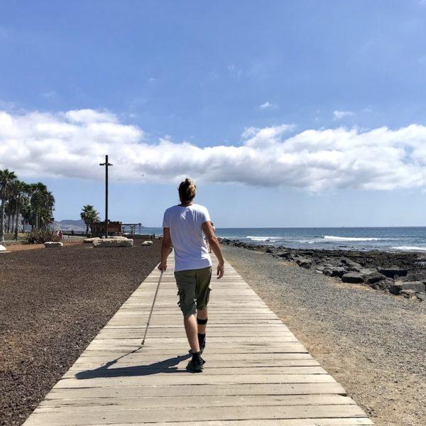 Strandpromenade Playa de las Américas Teneriffa