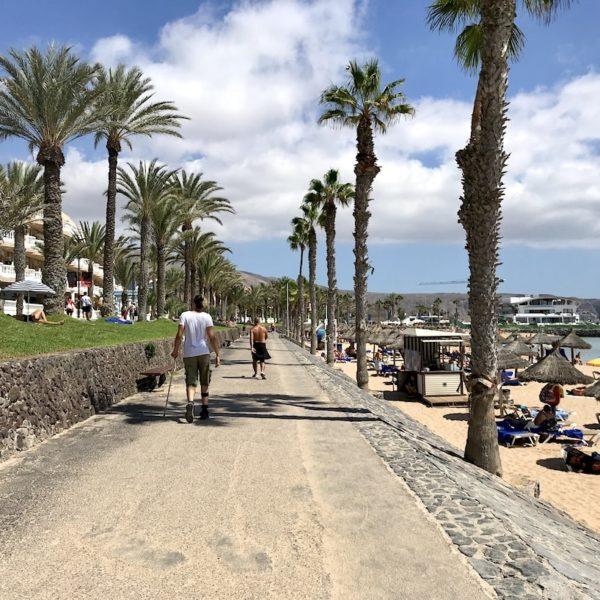 Strandpromenade Playa del Américas