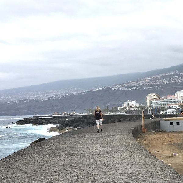 Strandpromenade Puerto de la Cruz Teneriffa