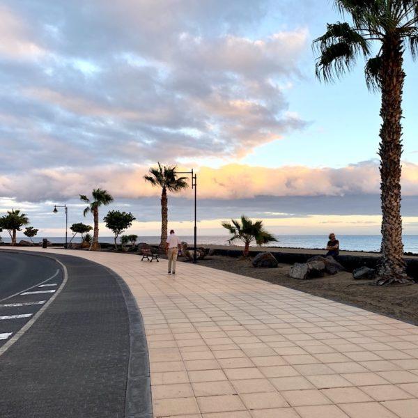 Strandpromenade Puerto del Carmen Lanzarote