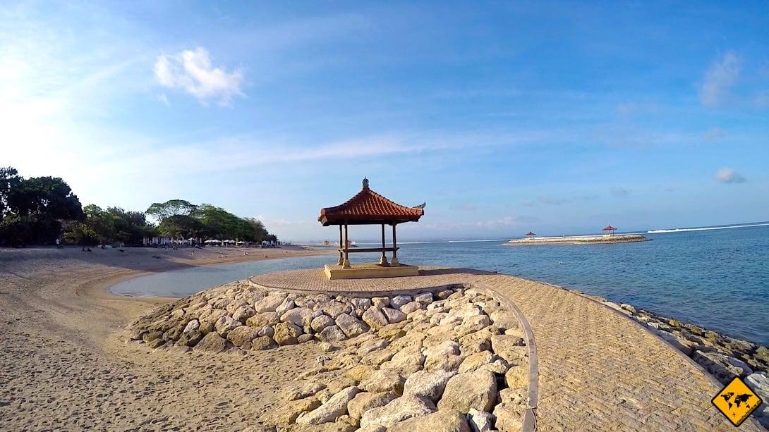 Strandpromenade Sanur Bali
