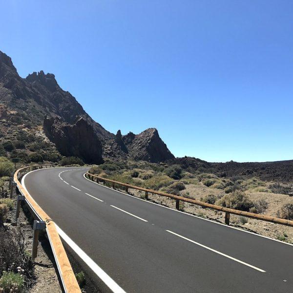 Straße Teide Nationalpark TF-21