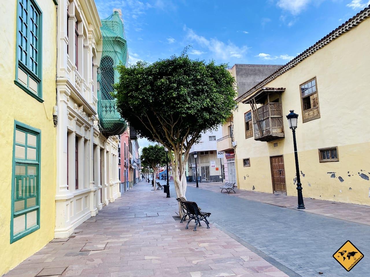 Straßenbild San Sebastián de La Gomera