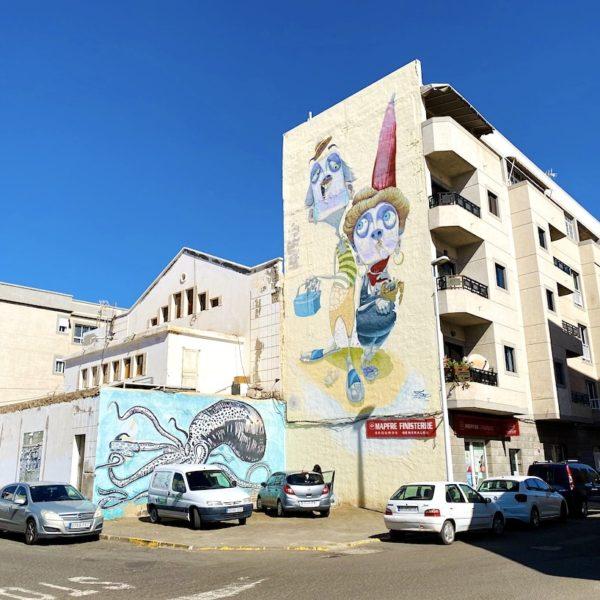 Streetart Hausfassade Gran Tarajal