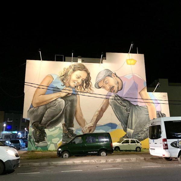 Streetart Puerto del Rosario Fuerteventura