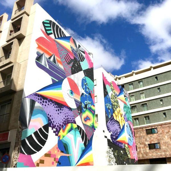 Streetart Santa Cruz de Tenerife