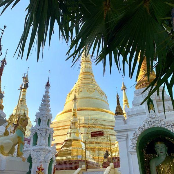 Stupas Myanmar Shwedagon