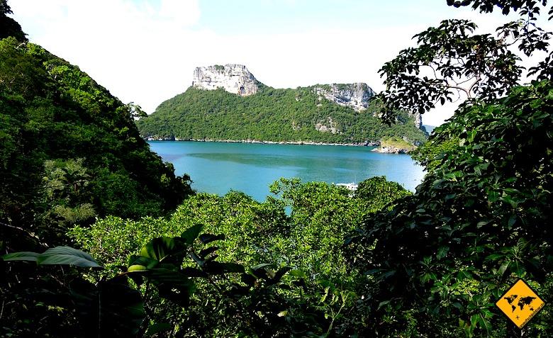Südthailand Ang Thong Marine Park