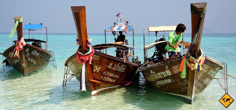 Südthailand Inselhopping