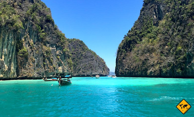 Südthailand Kalksteinfelsen