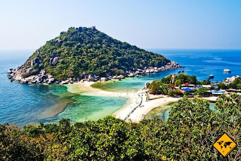 Südthailand Koh Nang Yuan
