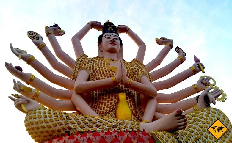 Südthailand Koh Samui Wat Plai Leam