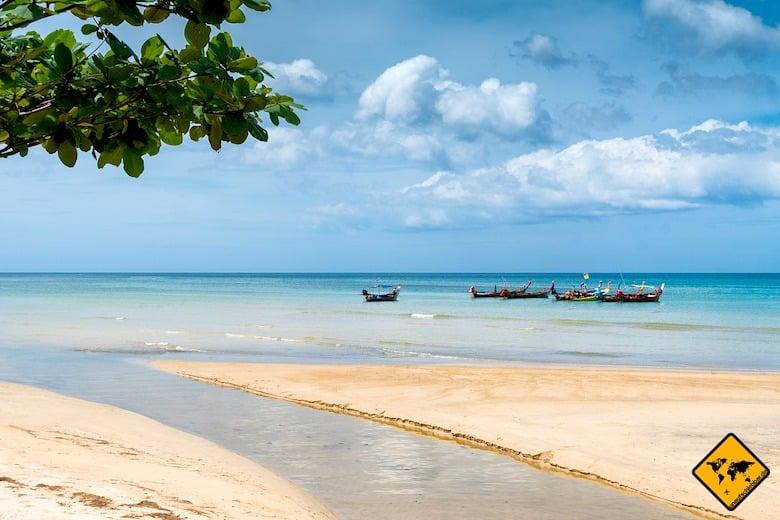 Südthailand Phuket Landschaft