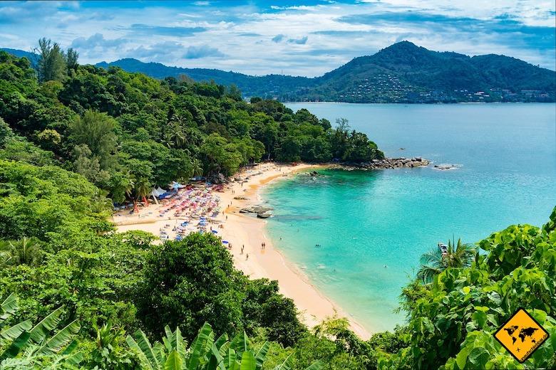 Südthailand Phuket Strand