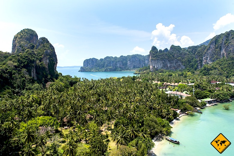 Südthailand Railay View Point