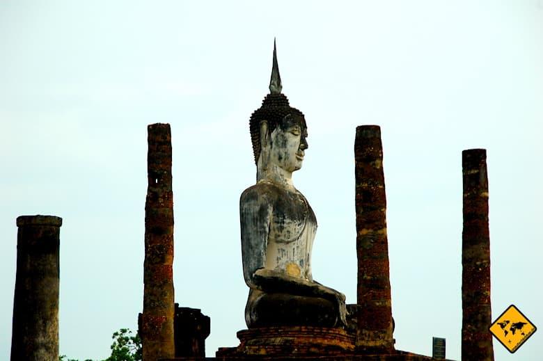 Sukhothai Geschichtspark Wat Mahathat