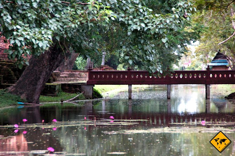 Sukhothai Historical Park Brücke