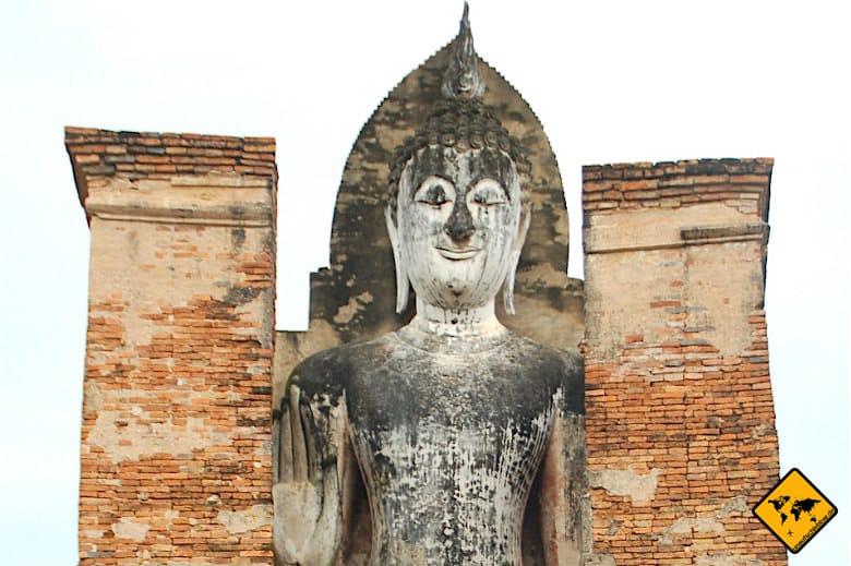 Sukhothai Historical Park Buddha