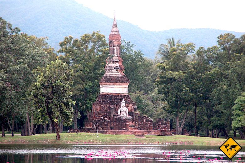 Sukhothai Historical Park Eindrücke