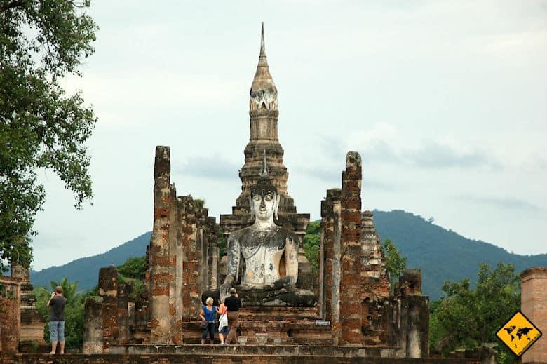 Sukhothai Historical Park Wat Mahathat