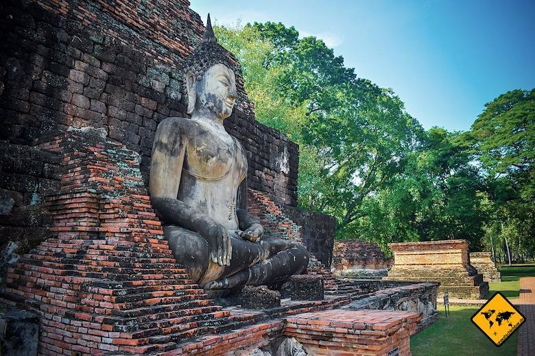 Sukhothai in Thailand Geschichtspark