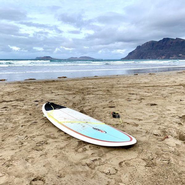 Surfen Lanzarote Playa de Famara