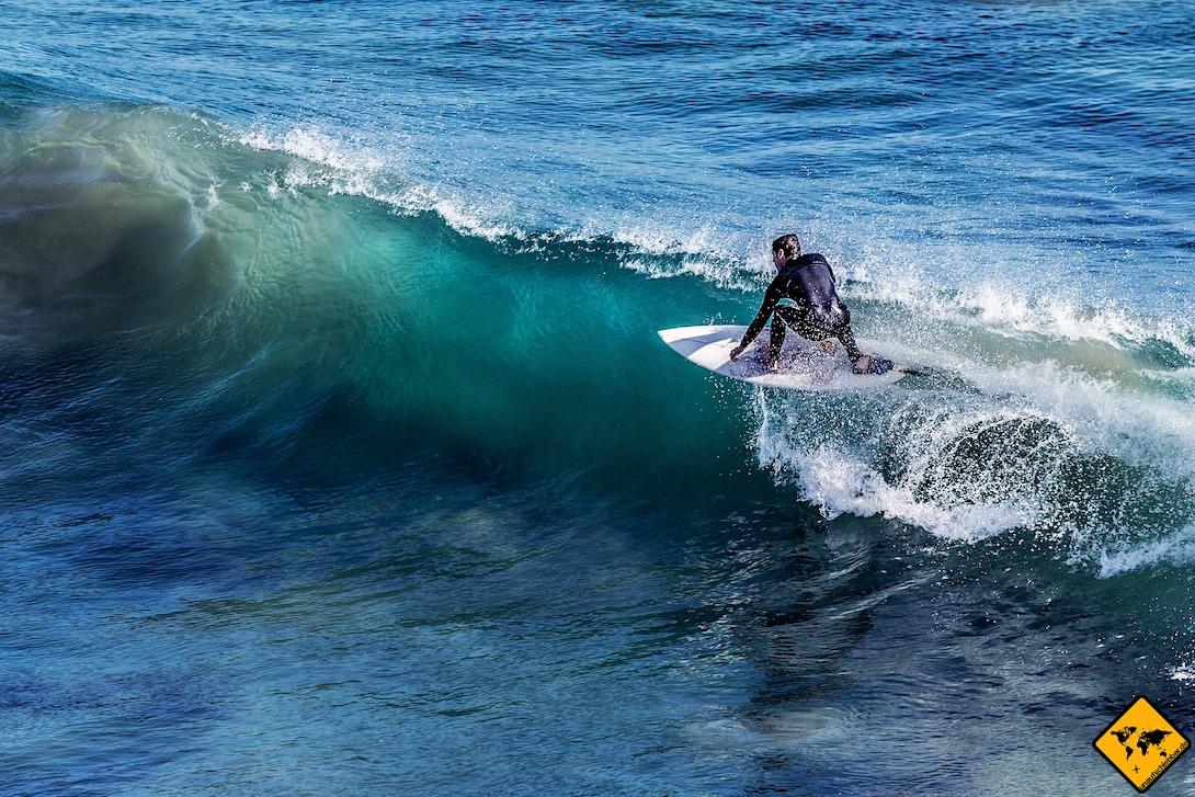 Surfen Teneriffa Igueste de San Andrés