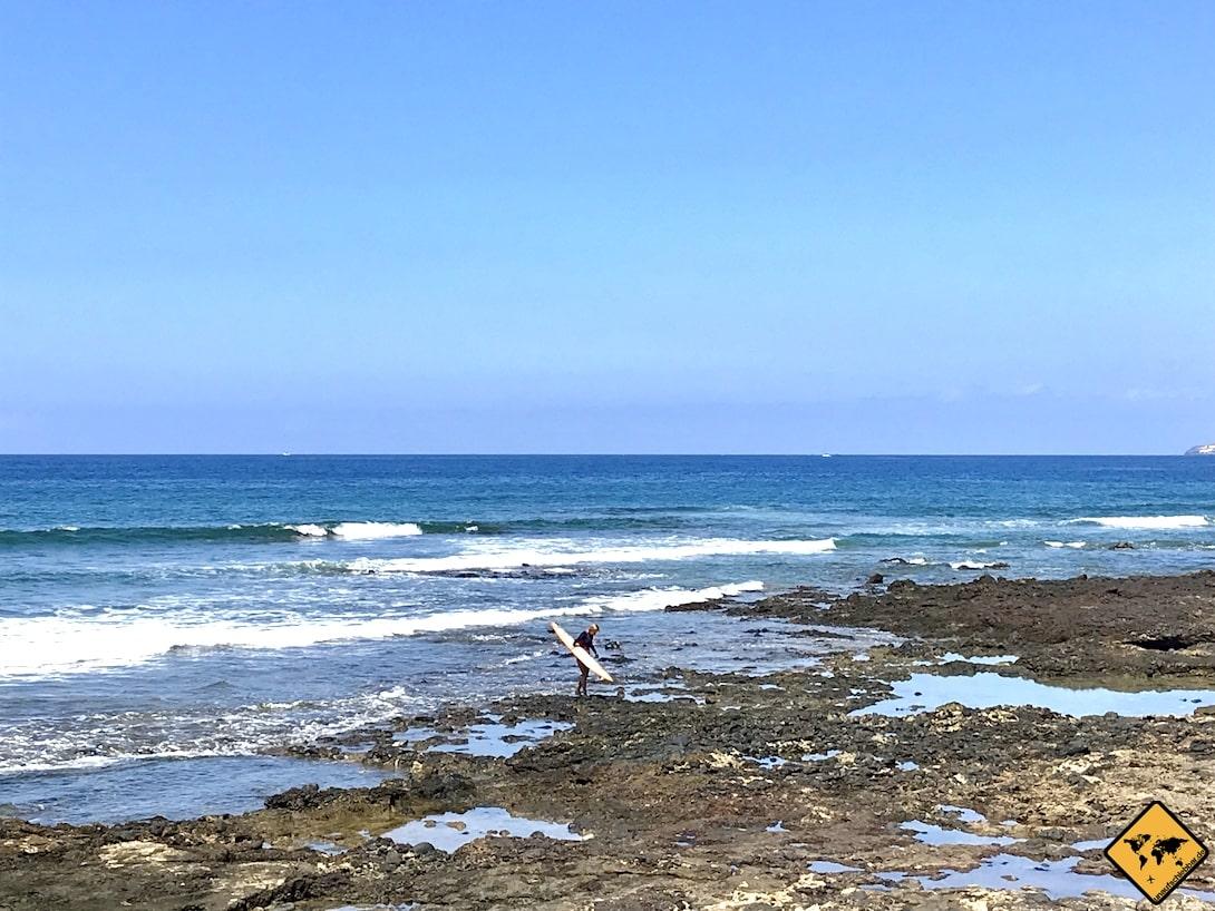 Surfen auf Teneriffa Playa de las Américas