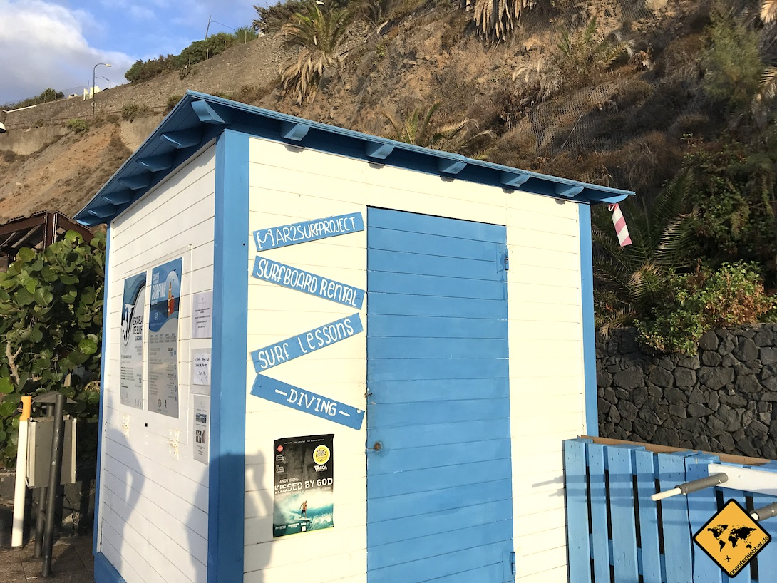Surfen auf Teneriffa Playa del Socorro Surfshop